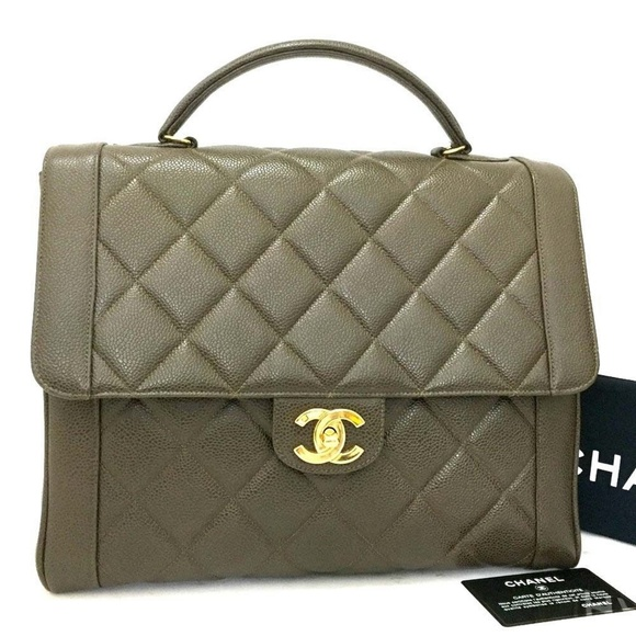 27b9c7f99ba1 CHANEL Bags | Jumbo 32 Quilted Matelasse Skin Hand Bag | Poshmark